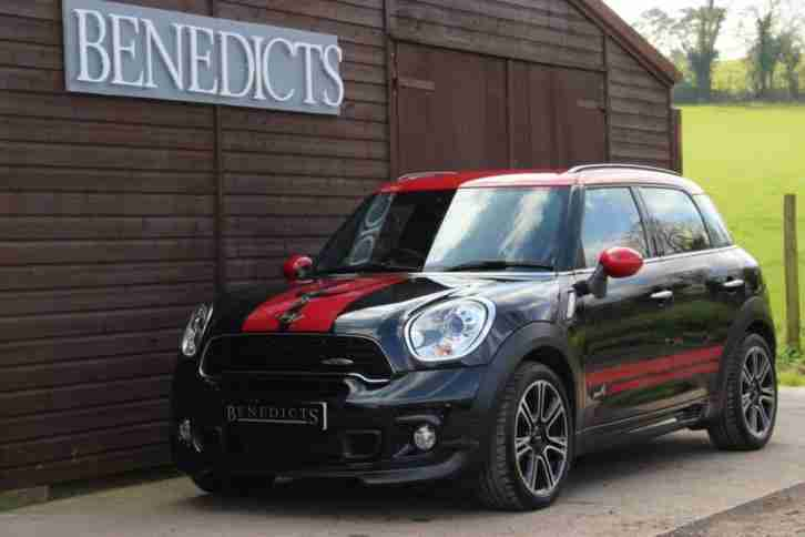 2014 14 COUNTRYMAN 1.6 JOHN COOPER WORKS