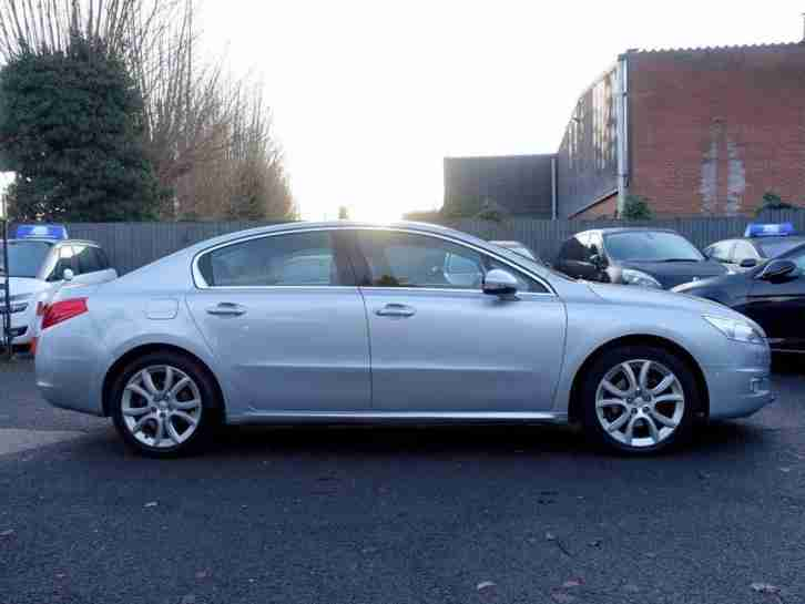 2014 14 PEUGEOT 508 2.0 BLUEHDI 150 ALLURE NAV Silver Manual Diesel