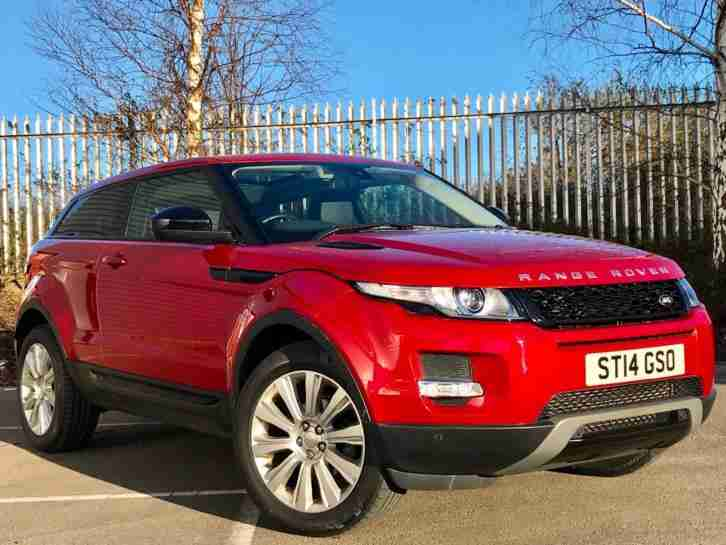 2014 / 14 Range Rover Evoque 2.2 SD4 Pure TECH (190) 4WD COUPE 9 SPD AUTO