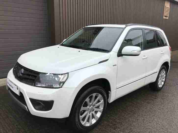 suzuki 2014 14 grand vitara 1 9 ddis sz5 5 door white car for sale. Black Bedroom Furniture Sets. Home Design Ideas