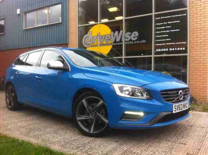 2014 14 Volvo V60 D4 2.0 163bhp Navigatior R Design, Diesel, Manual, Estate