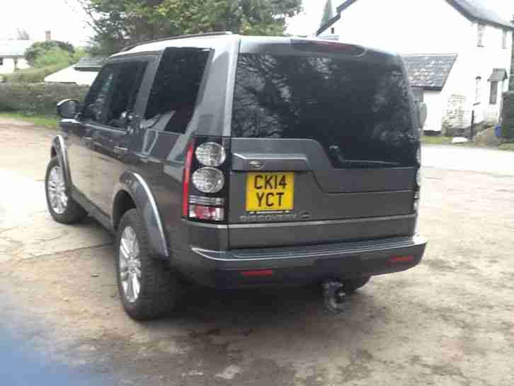 2014 14 reg Land Rover Discovery Commercial XS corris grey