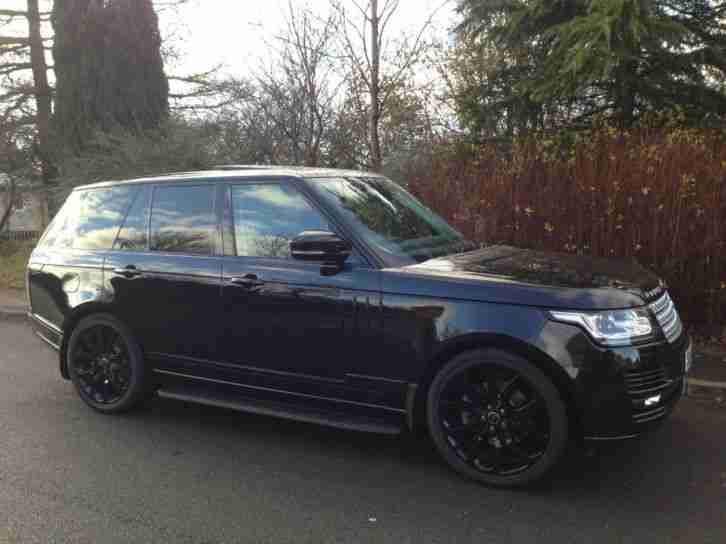 2014 14 reg,Land Rover Range Rover 3.0 diesel Vogue fully colour coded