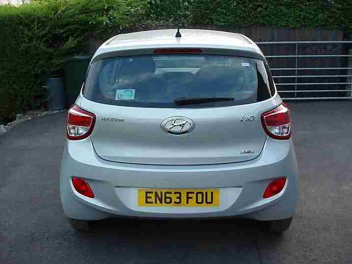 2014 63 HYUNDAI I10 1.2 SE NEW SHAPE UNRECORDED DAMAGED REPAIRABLE SALVAGE