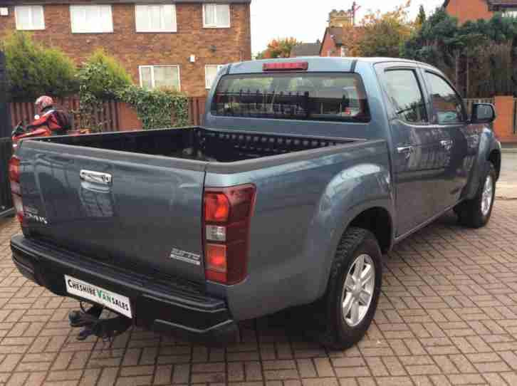 2014 63 ISUZU D-MAX EIGER MANUAL 4X4 ~ A/C~BLUETOOTH~DAY RUNNING LIGHTS~T BAR~