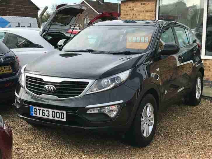 2014 63 SPORTAGE 1.6 1 PHANTOM BLACK ONLY