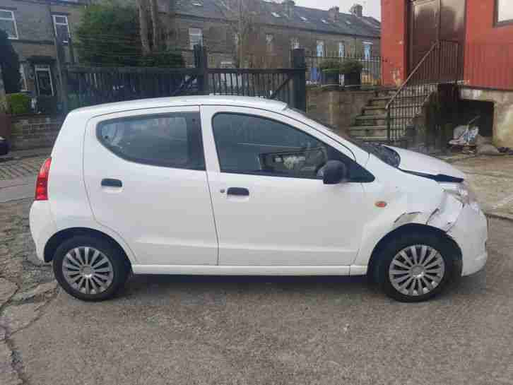 2014 63 PLATE ALTO SZ 998CC TAX AND