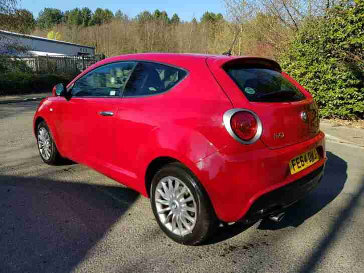 2014 *64* Alfa Romeo Mito Twinair 1.0 light Damaged Salvage Repairable drives