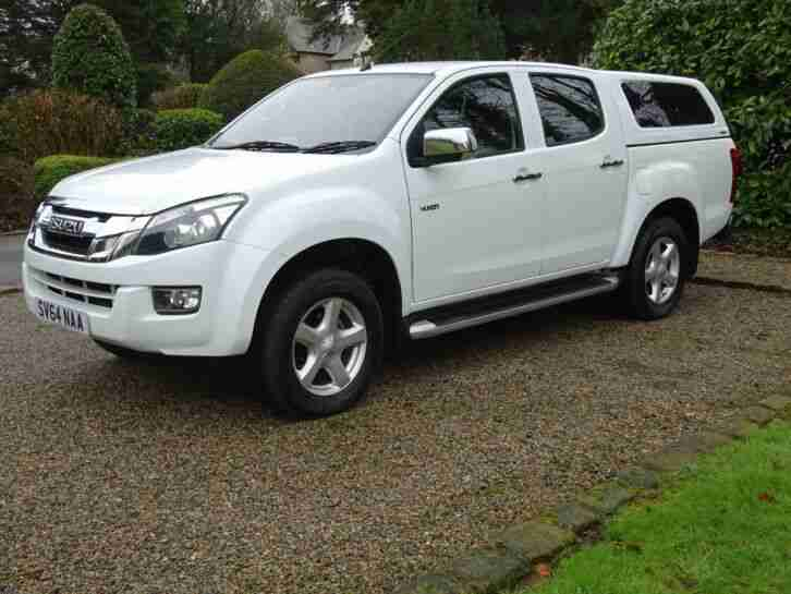 2014 64 Isuzu D Max Yukon Double Cab Pickup, One Owner, £10,000 + V.A.T