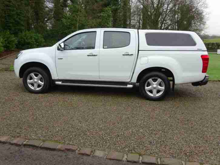 2014 64 Isuzu D-Max Yukon Double Cab Pickup, One Owner, £10,000 + V.A.T