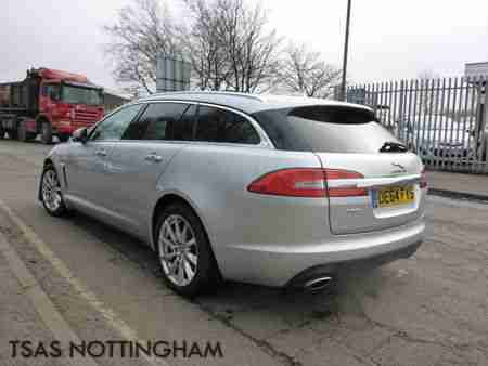 2014 * 64*Jaguar XF 3.0D V6 240 Sportbrake Auto Premium Luxury Damaged Salvage