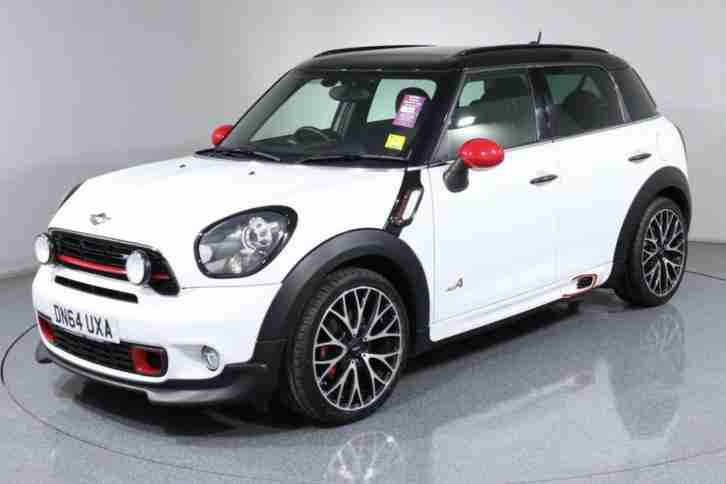 2014 64 MINI COUNTRYMAN 1.6 JOHN COOPER WORKS 5D 215 BHP