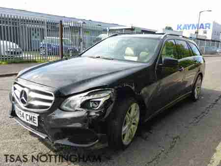 2014 64 Mercedes-Benz E CLASS E220 AMG Line CDI 177 Auto Plus Damaged Salvage
