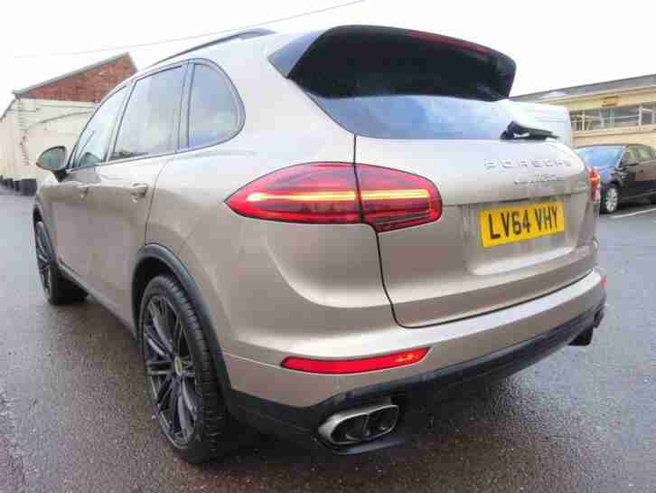 2014 64 REG PORSCHE CAYENNE 4.8 TIPTRONIC S V8 TURBO AUTO DAMAGED SALVAGE