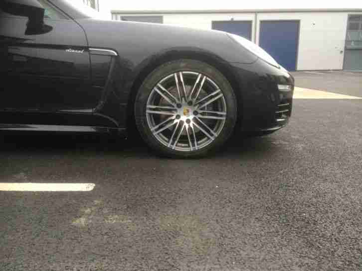 2014 64 REG PORSCHE PANAMERA D V6 TIPTRONIC BLACK NEW SPEC UKCAR VIEWING WELCOME