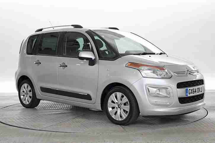 citroen 2014 64 reg c3 picasso 1 6 hdi 90 exclusive met silver mpv. Black Bedroom Furniture Sets. Home Design Ideas