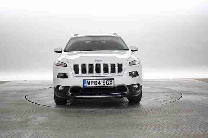 2014 (64 Reg) Jeep Cherokee 2.0 CRD Limited White DIESEL AUTOMATIC