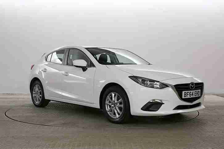 mazda 2014 64 reg 3 2 0 se l arctic white 5 standard. Black Bedroom Furniture Sets. Home Design Ideas