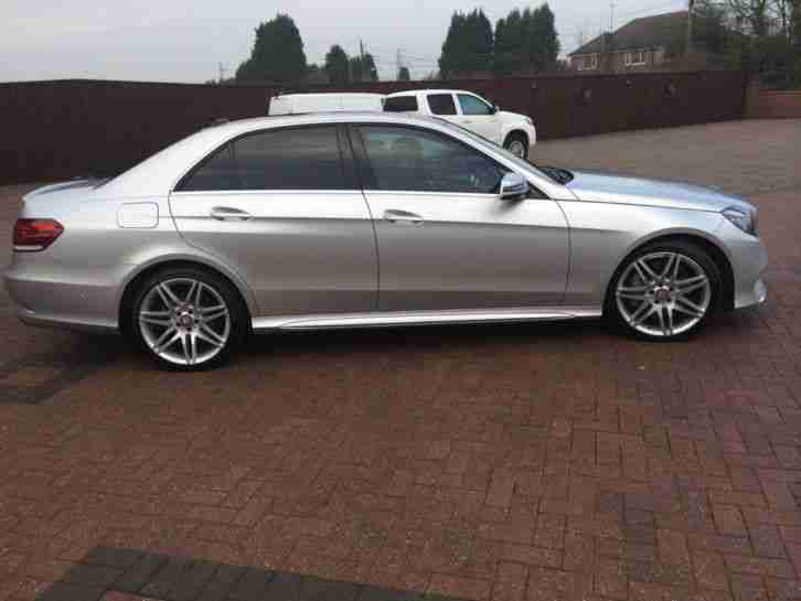 mercedes benz 2014 64 reg e class e350 bluetec amg sport 4dr tip car for sale. Black Bedroom Furniture Sets. Home Design Ideas