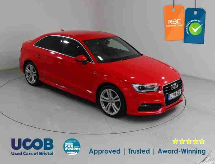 Audi A3. Audi car from United Kingdom