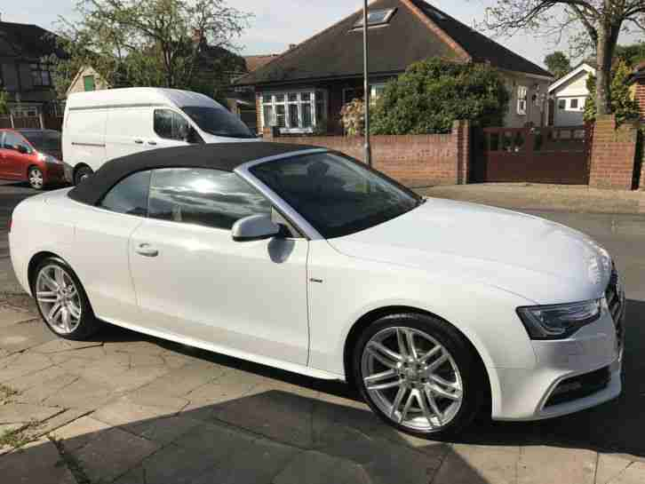 Audi 2014 a5 s line tdi white car for sale - White audi a5 coupe for sale ...