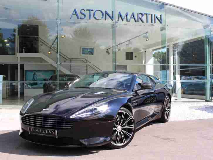2014 DB9 Carbon Petrol black
