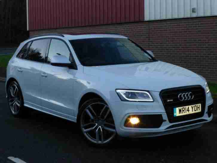 Audi 2014 Sq5 3 0 Bitdi Act Quattro 5dr Tiptronic 4wd Car
