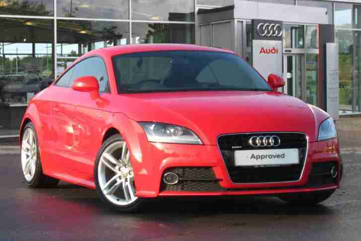 audi 2014 tt 2 0 tdi quattro s line 2dr 2011 manual coupe car for sale. Black Bedroom Furniture Sets. Home Design Ideas