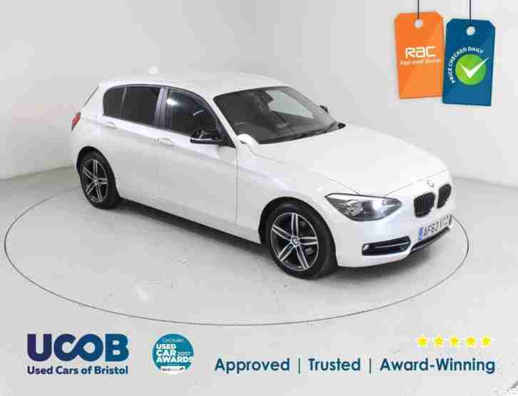 2014 BMW 1 SERIES 118D SPORT SPORTS HATCH (S S) 5DR HATCHBACK DIESEL