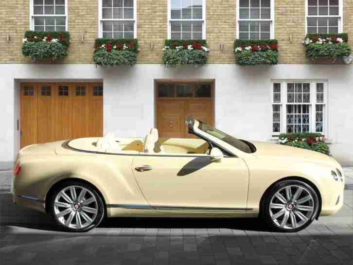 2014 Bentley CONTINENTAL GTC 4.0 V8 2dr Auto Semi-Auto Convertible