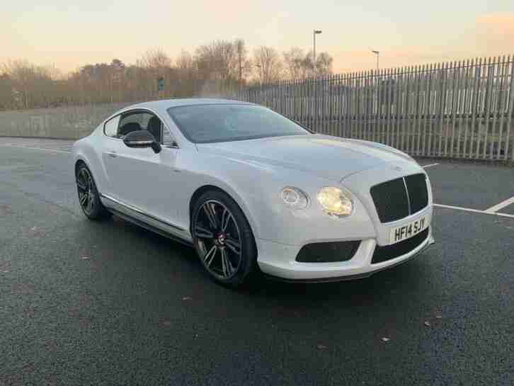 2014 Bentley Continental 4.0 GT V8 S Auto 4WD 2dr Coupe Petrol Automatic