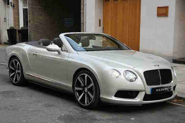2014 Bentley Continental GTC V8 S Mulliner Petrol Automatic
