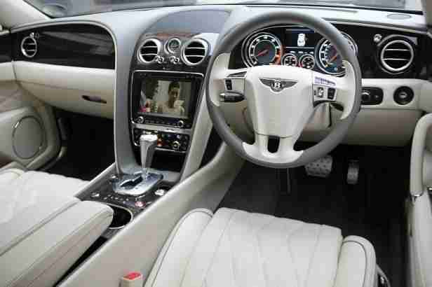2014 Bentley Flying Spur Mulliner W12 Petrol Grey Automatic