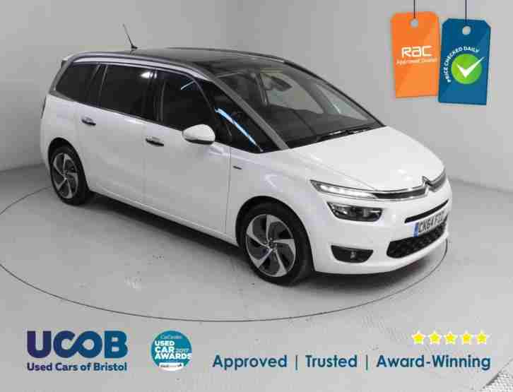 2014 CITROEN C4 GRAND PICASSO 2.0 BLUEHDI EXCLUSIVE+ 5DR MPV DIESEL