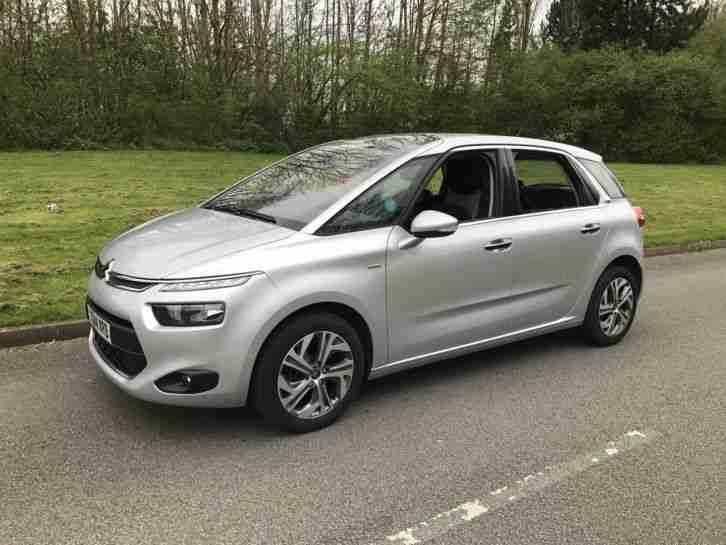2014 CITROEN C4 PICASSO EXCL AIRDREAM SILVER
