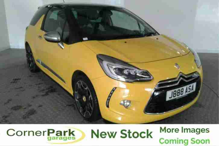 Citroen DS3. Citroen car from United Kingdom