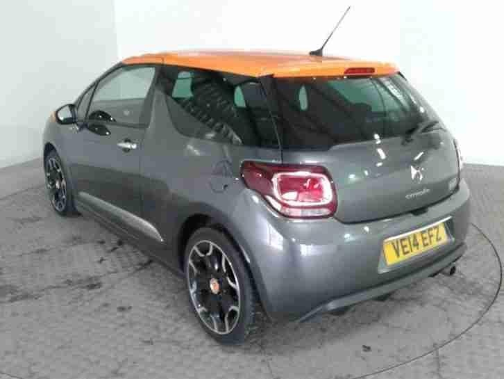 2014 CITROEN DS3 DSTYLE BY BENEFIT HATCHBACK PETROL