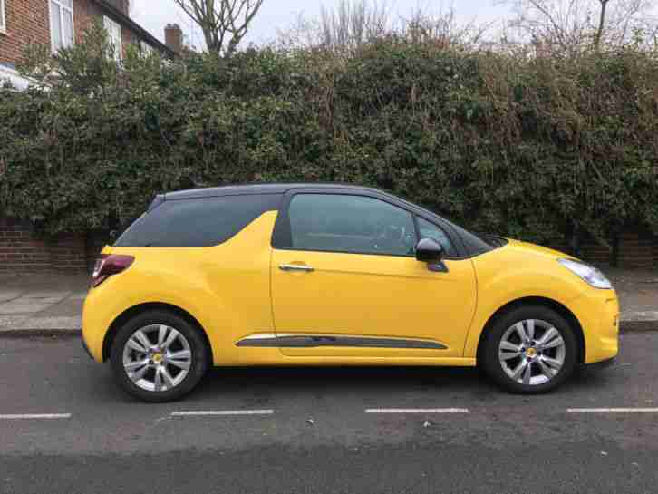 2014 DS3 DSTYLE E HDI YELLOW