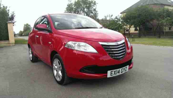 2014 Chrysler Ypsilon 1.2 S 5dr (start/stop), just 5000 miles