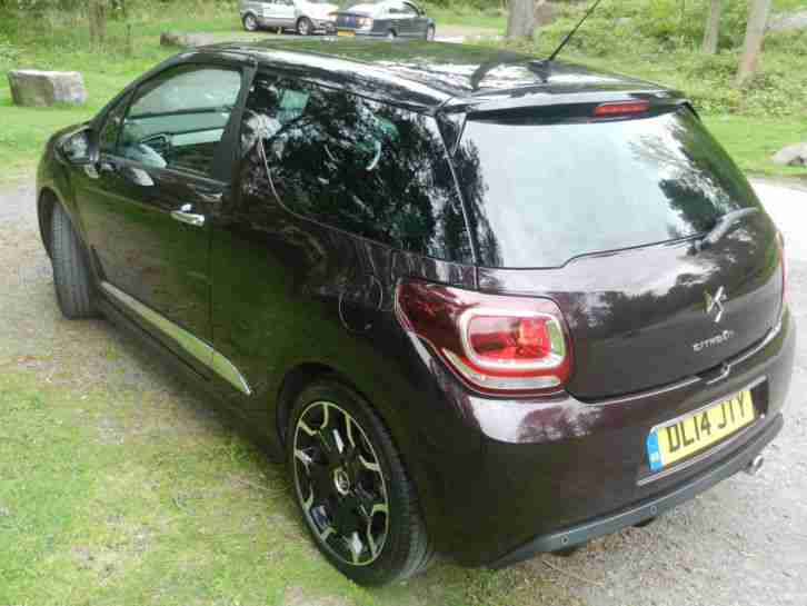 2014 Citroen DS3 1.6 VTi 16V DStyle Plus 3 door Hatchback 1 lady owner-
