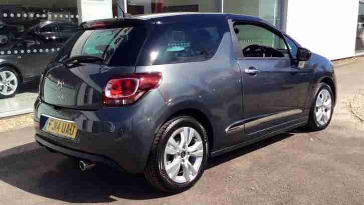 2014 Citroen DS3 1.6 e-HDi Airdream DStyle 3dr Manual Diesel Hatchback