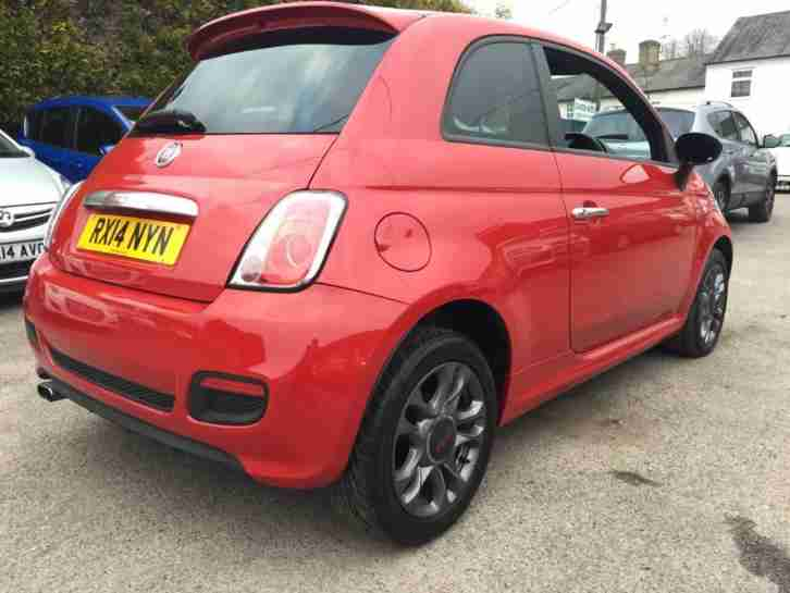 2014 Fiat 500 1.2 S 3dr LOW COST PCPHP FINANCE AVAILABLE, JUST ASK 3 door Hat...