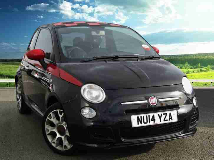 2014 Fiat 500 500S 1.2 69PS 3DR, Bluetooth Powered By Microsoft, Digital Speedom
