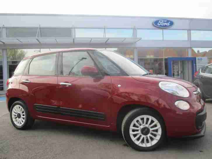 2014 500L MULTIJET EASY Diesel red