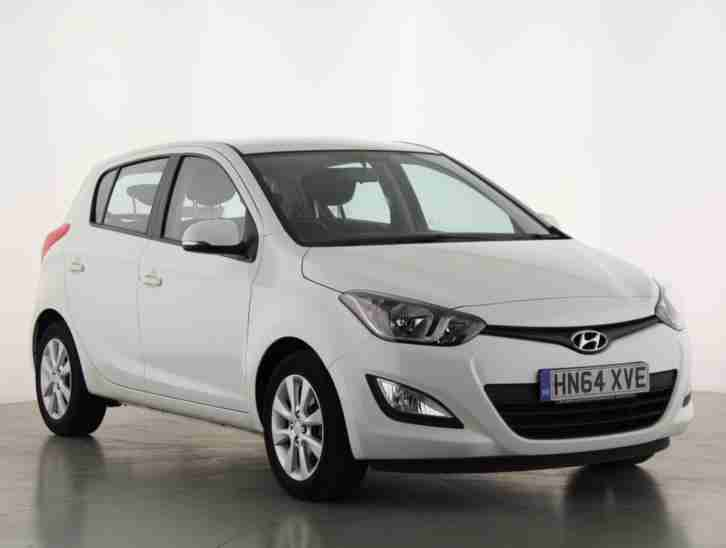 2014 i20 1.2 Active 5dr Petrol white