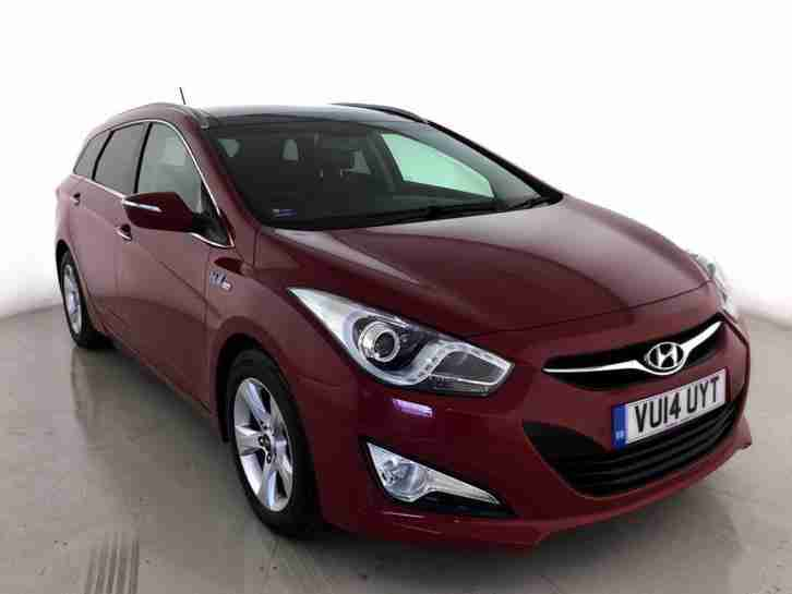 Hyundai I40. Hyundai car from United Kingdom