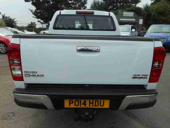 2014 ISUZU D MAX 2.5TD Yukon Double Cab 4x4 ONE OWNER ONLY LOW MILEAGE