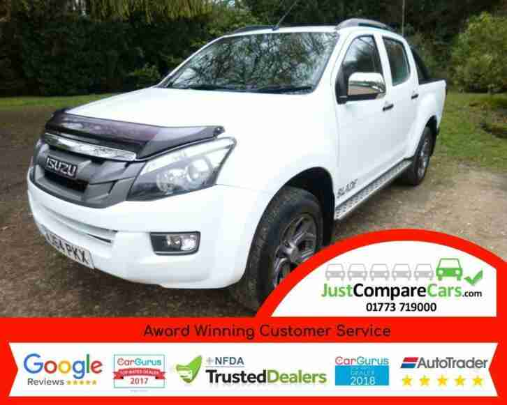 2014 Isuzu D Max 2.5TD 160 Venetian Red Blade Auto Double Cab 4x4 Pick up