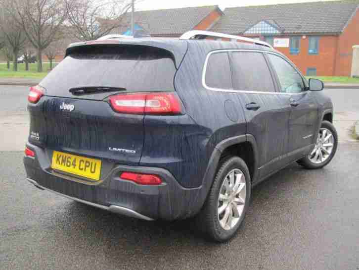 jeep 2014 cherokee 2 0td s s limited 5dr 4wd manual 4x4 car for sale. Black Bedroom Furniture Sets. Home Design Ideas