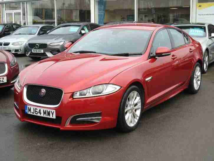 Jaguar XF. Jaguar car from United Kingdom